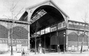 Les Halles Baltard au XIXè siècle