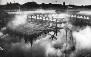 Démolition des Halles de Baltard en 1971, sous Pompidou