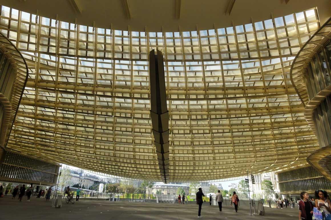 Canopée les Halles, de Patrick Berger et Jacques Anziutti, Architectes