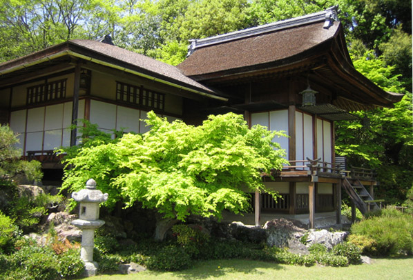 Ginkaku-ji, pavillon d'argent, est un temple bouddhiste de Kyoto