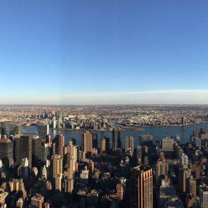 Différentes vues à 360° du 86è étage (d)