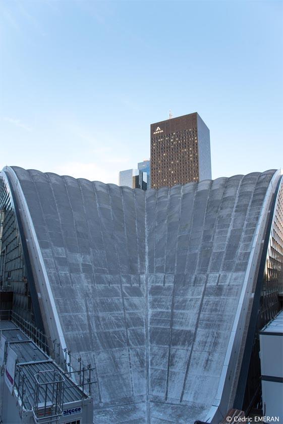 La voute et les façades sont conservées dans cette rénovation en 1988